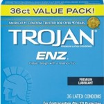 Trojan-enz Condom ENZ Lubricated